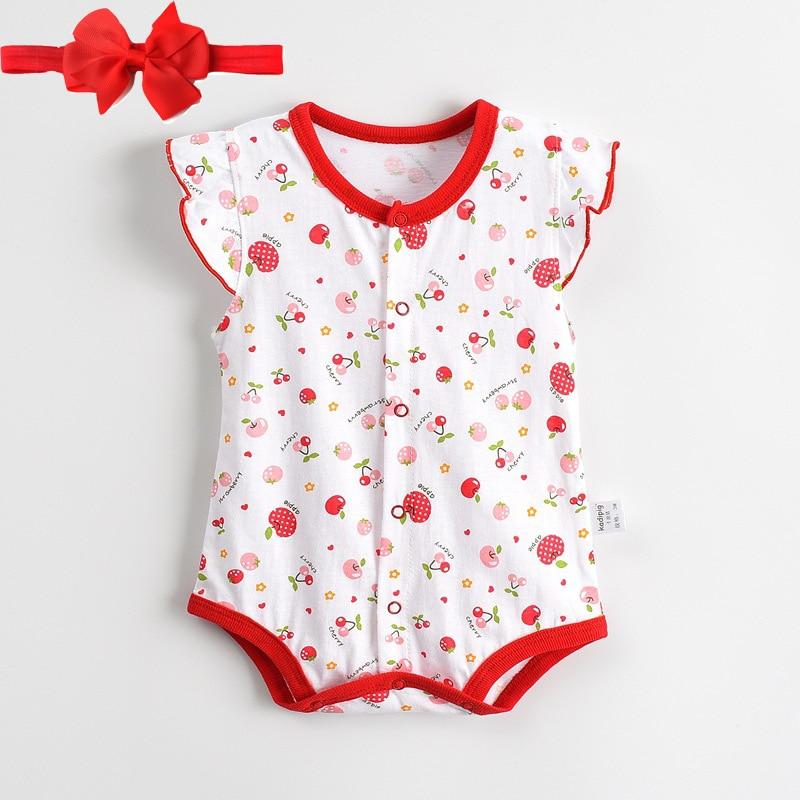 בייבי Rompers קיץ חם תינוק חדש בנות בגדים - ביגוד לתינוקות