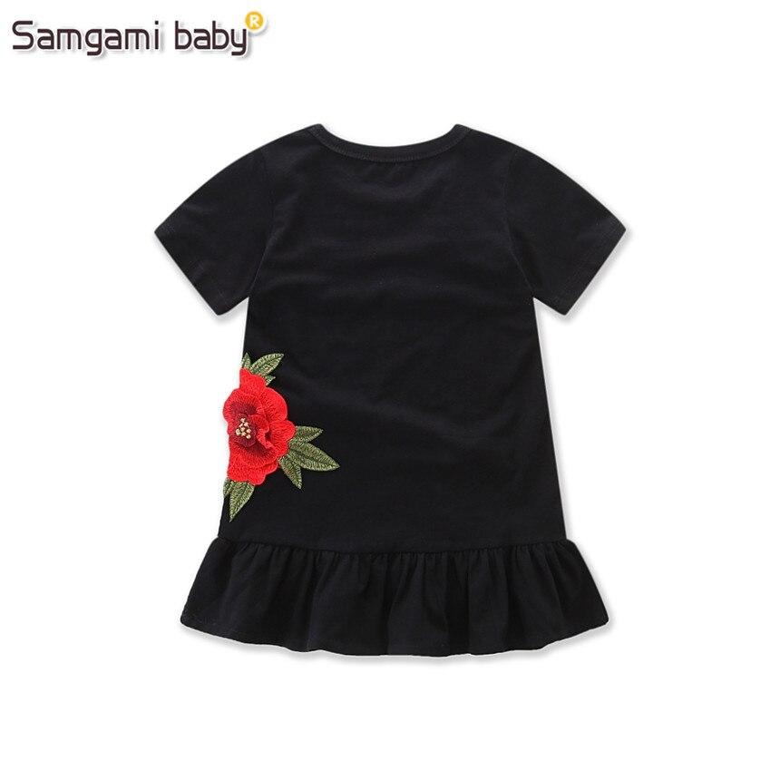 SAMGAMI-BABY-New-Embroider-Design-Black-Short-Sleeve-Dresses-Fashion-Cute-Girls-Clothes-Summer-Toddler-Girl-Dresses-Size-80-120-2