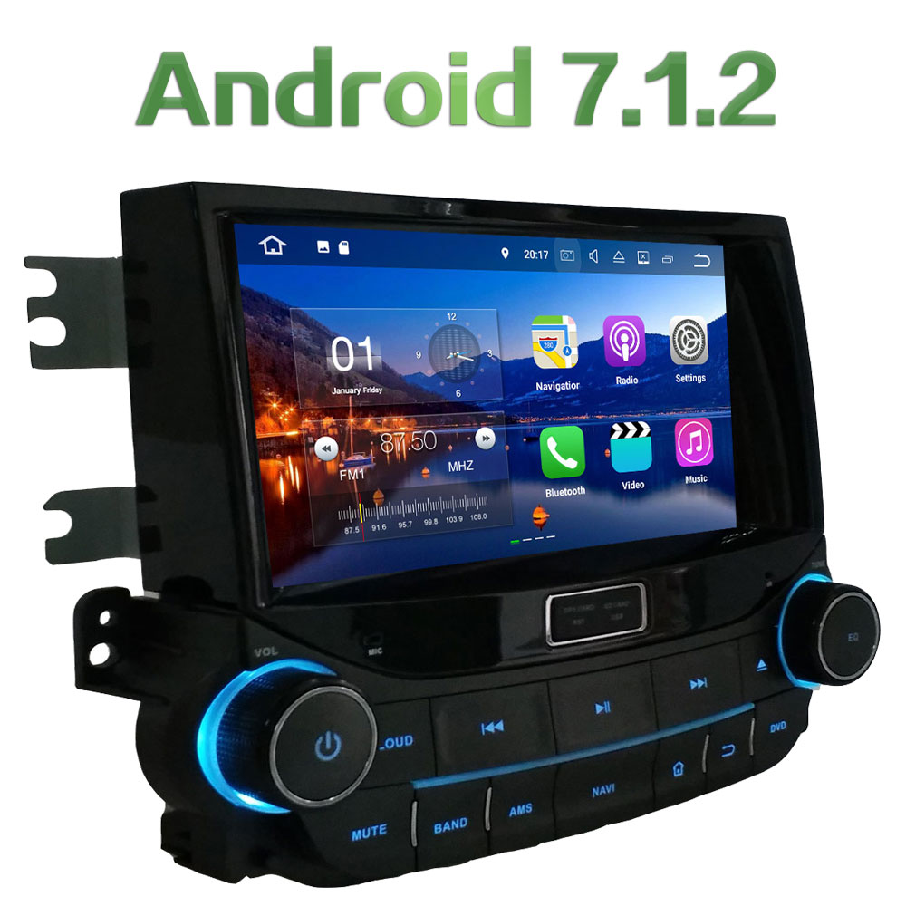 Quad Core 2GB RAM 16GB ROM 8 Android 7 1 2 Car Multimedia Stereo GPS Navigation