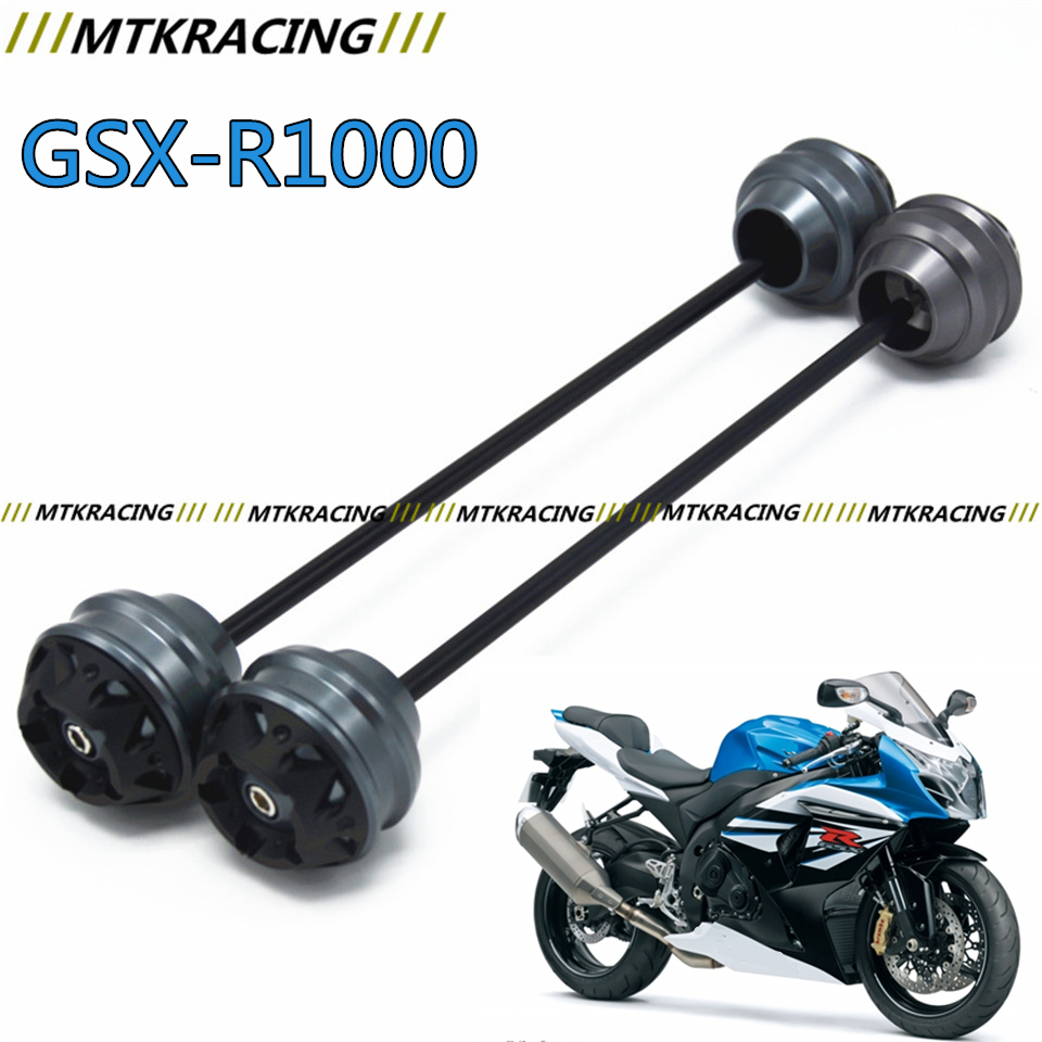 MTKRACING Free delivery for SUZUKI GSXR 1000 2012-2015  CNC Modified Motorcycle Front wheel drop ball / shock absorber yuvraj singh negi biopolymers for targeted drug delivery systems