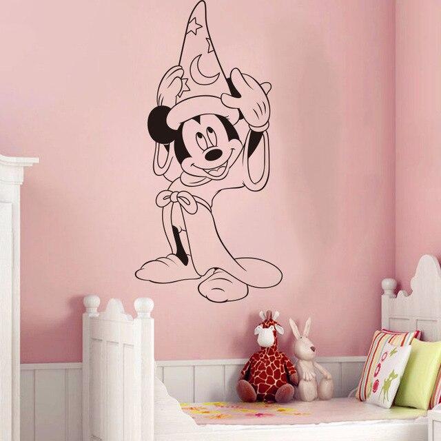 Online Shop Creative Cartoon Sticker Diy Bedroom Cute Mickey Mouse