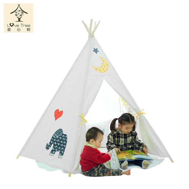 Kids Teepee Play Tent for elephant carton kids play room game house play tent free shipping  sc 1 st  AliExpress.com & Kids Teepee Play Tent for elephant carton kids play room game ...