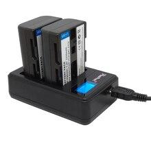 NP-FM500h для sony Батарея NP FM500h Камера 2200mA Bateria + ЖК-дисплей двойной зарядное устройство для sony Alpha a58 A65 A77 A99 a350 A550 A580 A900