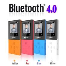 Original 8GB RUIZU X18 HIFI Sports Bluetooth MP4 Media MP3 Player Video Movie FM Radio Voice Recorder original ruizu x26 newest version clip bluetooth mp3 player 8gb sport mp3 music player with recorder fm radio support tf card