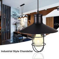 American Style Creative Loft Industrial Iron Cage Wall Lamp Lights DIY Bar