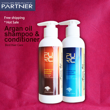 PURC Argan Oil Hair Shampoo 250ml And Hair Conditioner 250ml Set No Stimulation Deep Repair Damaged Hair Morocco Hair Care Set