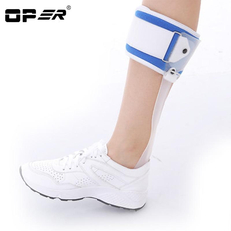OPER стопы свисать Ортез падение лодыжки ног коррекции осанки АФО Brace Ортез шину рессорная восстановления Корректор осанки