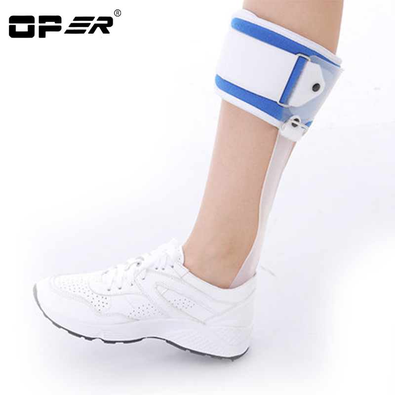 OPER Foot Droop Orthosis Ankle Foot Drop Postural Correction AFO Brace Orthosis Splint Leaf Көктемді Қалыптастыру Түзеткіші
