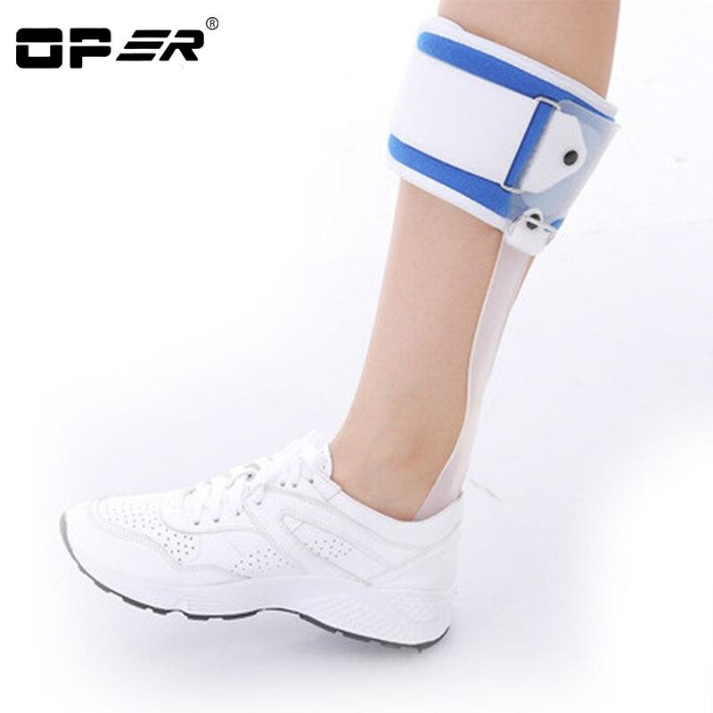 OPER Foot Droop Orthosis Ankle Foot Drop Postural correction AFO Brace Orthosis Splint Leaf Spring Recovery Posture Corrector