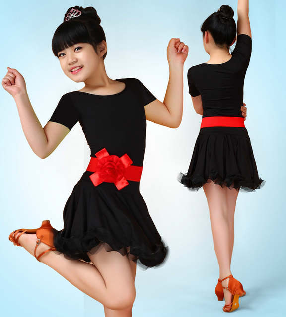 a3eeffb9111b Online Shop child dance girl latino dancing cheap dresses kids ...