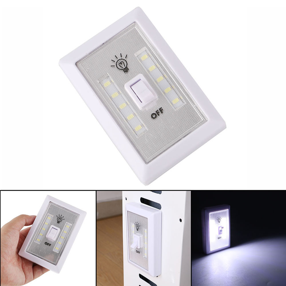 Modern Led Wall Lamp 1x Cob Led Wall Switch Wireless