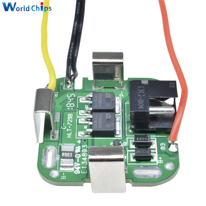 4S 14.8V / 16.8V 4 SERIAL Series String 16.8V Lithium Battery Protection Board For Power Tools Drill Straight Electronic Module