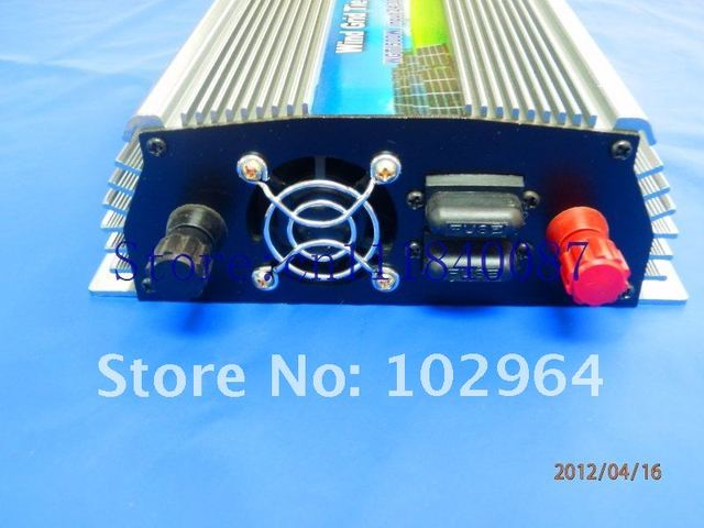 Special offer via China to Japan Express! grid tie inverter on-grid tie inverter  for wind turbine 1000W 10.5-28VDC