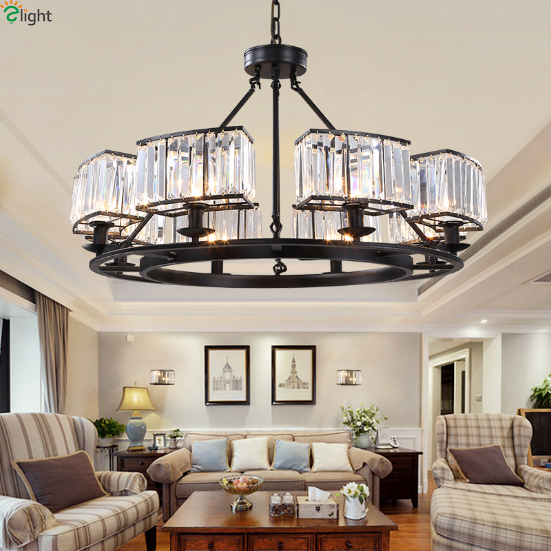 Lovely American Lustre Crystal Led Chandeliers Lighting Dining Room Led Pendant Chandelier Lights Fixtures Dining Room Led Hanging Lamp in Chandeliers from Lights Photos - Inspirational dining room pendant light fixtures Beautiful
