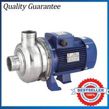 220V Household Dish Pump Open Impeller Cleaning Pump Stainless Steel Booster Water Pump BK100D