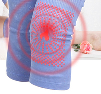 Middle Aged And Elderly Thickened Tourmaline Self Heating Knee Warm Magnetic Therapy Leg Cold 38 Magnet Massage Points Care