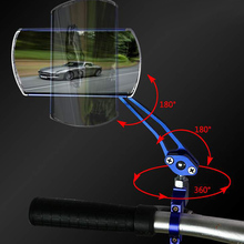 цены Hot 1 Pair Bike Bicycle Classic Rear View Mirror Handlebar Flexible Safety Rearview DO2