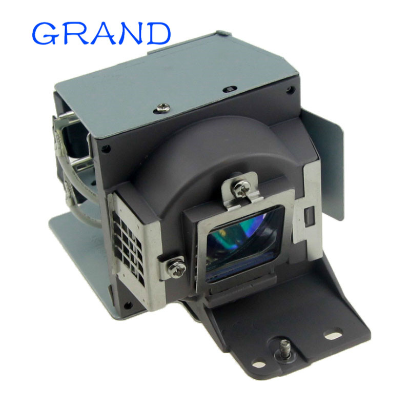 New Replacement Projector Lamp With Housing 5J.J3V05.001 For BENQ MX660 / MX711 Projectors HAPPY BATE