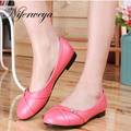 Large size 31-47 Spring/Autumn women shoes Solid PU leather Casual Round Toe Slip-On flat shoes zapatos mujer HH-062