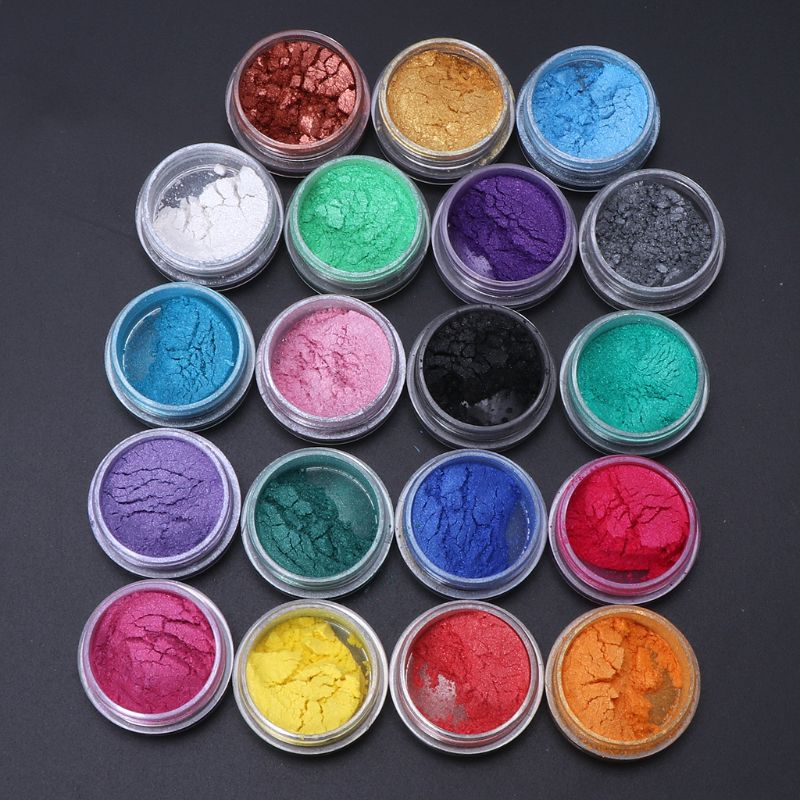 Resin Jewelry Colorant Dye Mica Pearl Pigment Superfine Powder Resin Dye Craft(China)