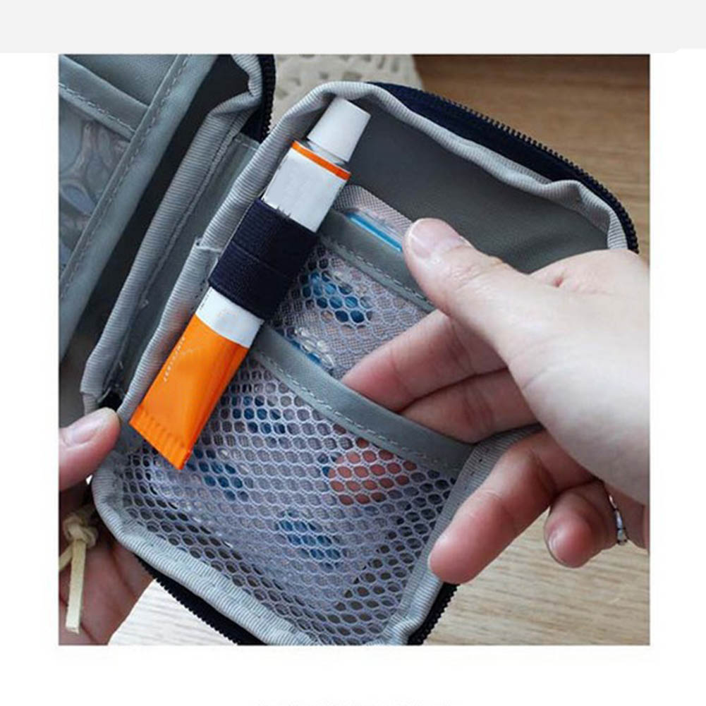 Empty First Aid Bag Emergency Pouch Travel Medicine Pill Storage Bags Outdoor Survival Organizer QJY99