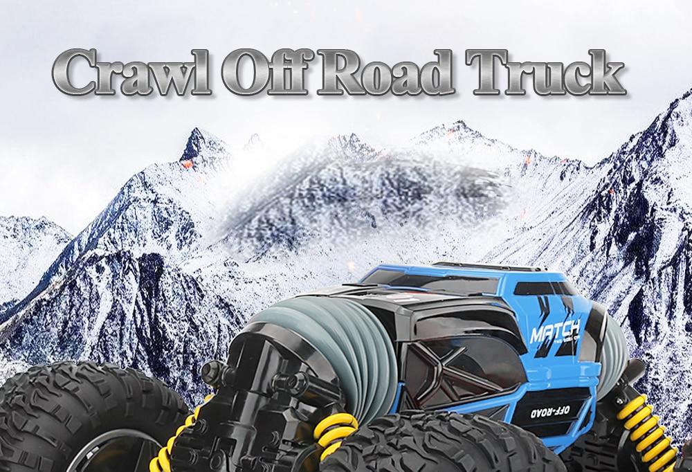 4WD Crawl Off Road Truck _01