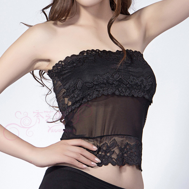 Women's Tube Top Lace Bandeau