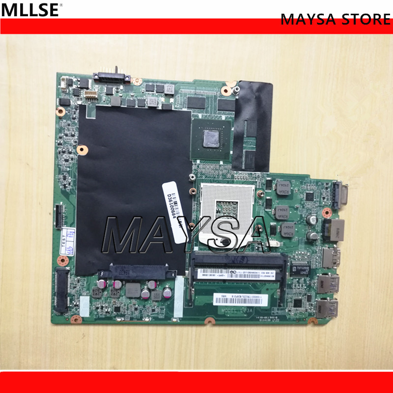 Original laptop motherboard fit for Lenovo Z580 motherboard DA0LZ3MB6G0 HM76 PGA989 DDR3 mainboard Fully tested 100% working 683495 001 for hp probook 4540s 4441 laptop motherboard pga989 hm76 ddr3 tested working