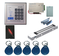New Upgrade 3 000 Users Complete Standalone RFID Door Access Control System Kit With Maglock