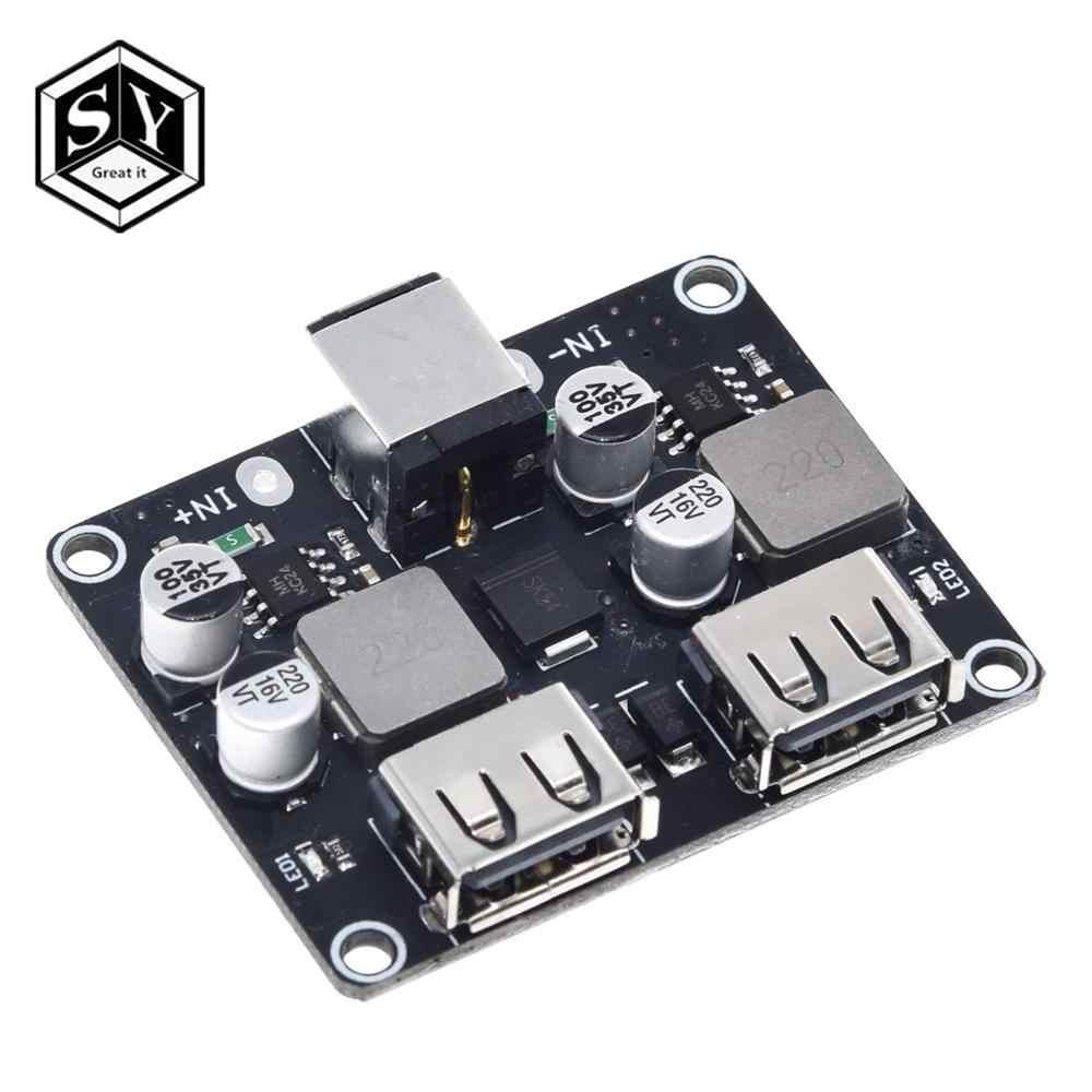 USB QC3.0 QC2.0 convertisseur Buck DC-DC Module de charge abaisseur 6-32V 9V 12V 24V à chargeur rapide carte de Circuit imprimé 3V 5V 12V