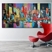 Buy painting words and get free shipping on aliexpress selflessly art abstract print oil painting on canvas altavistaventures Choice Image