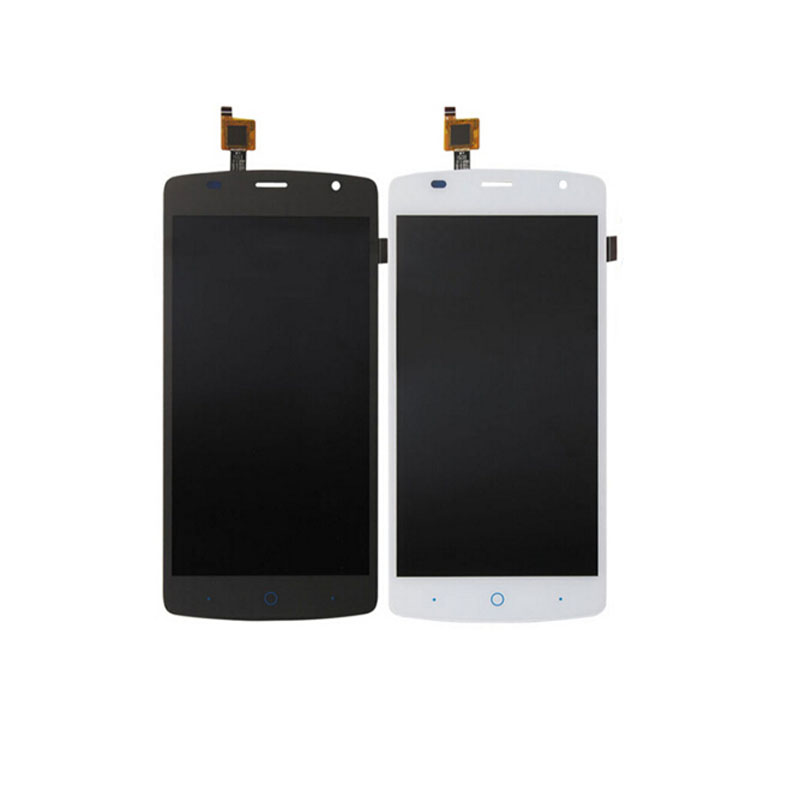 Black White Grayblue Touch Screen For ZTE Blade L5 L5 plus 5 0 Glass Digitizer Panel