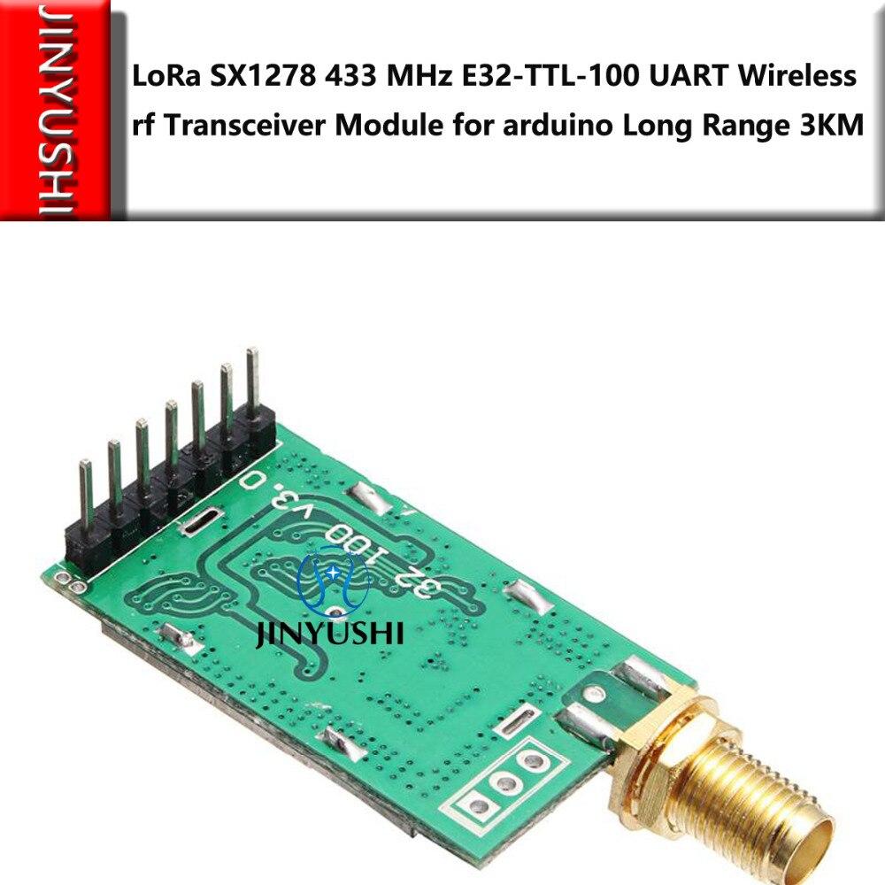 US $13 47 5% OFF|LoRa SX1278/SX1276 433MHz E32 TTL 100 Wireless rf Module  iot Transceiver UART rf Transmitter Receiver Long Range 3KM 20dBm -in  Modems