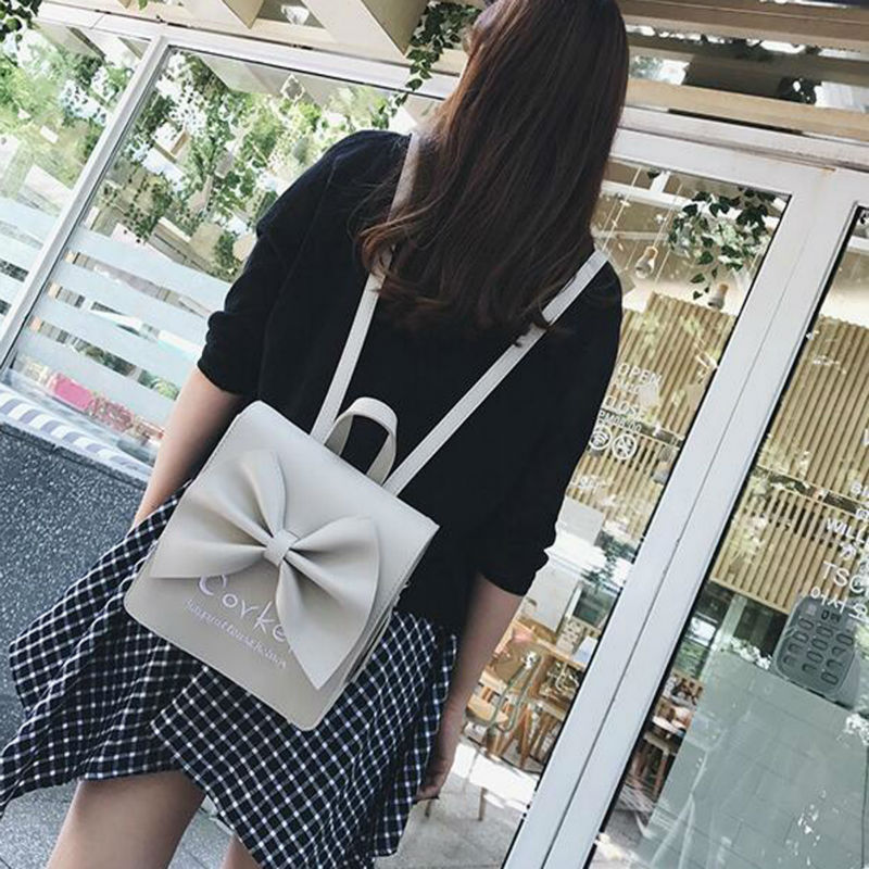 New Design Summer Fashionable Simple Mini Female Backpack Korean Style Individual Backpack All match Elegant Backpack