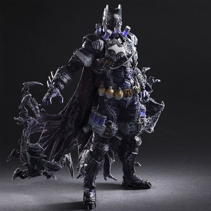 Free Shipping 10 PA KAI Super Hero Batman Mister Freeze Ver. Boxed 26cm PVC Action Figure Collection Model Doll Toys Gift сергей самаров возраст гнева
