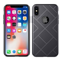 Heat Dissipation Air Case For IPhone X Smart Blank Mobile Cell Phone Case Accesorios For IPhone