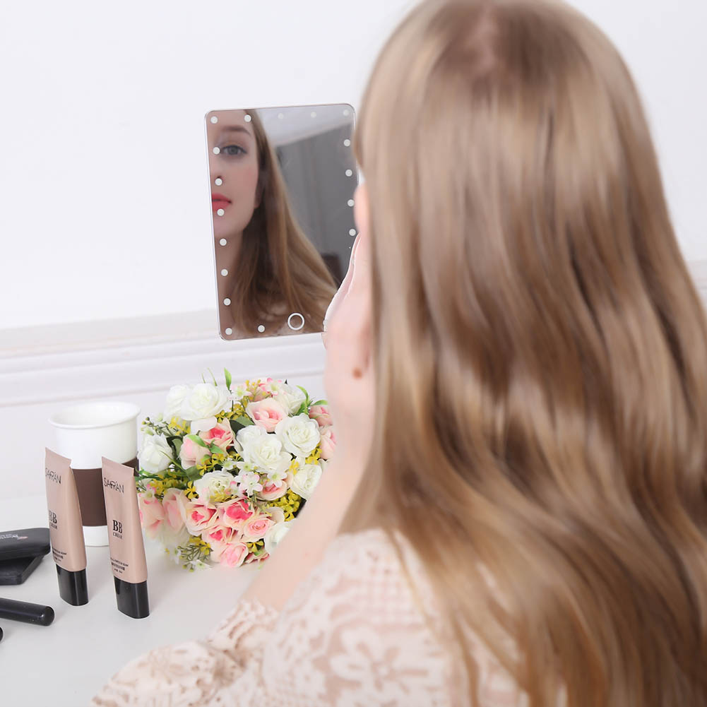LED Fashion Smart HD Makeup Mirrors Professional Touch
