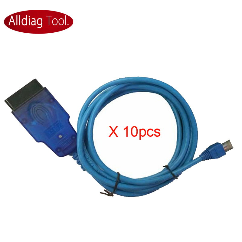 цены  10pcs x Enet Esys OBDII Coding Cable Ethernet to OBD Interface Cable for F series Programming