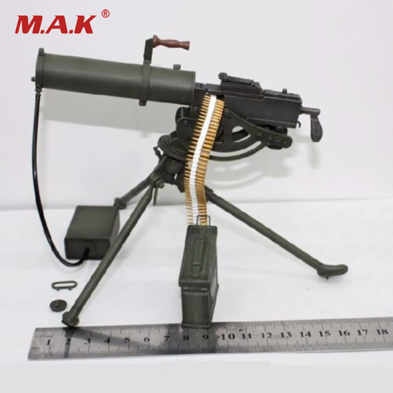1/6 Scale Water-cooled Machine Gun Model Maxim M1910 Weanpon Toys for 12 inches Action Figure