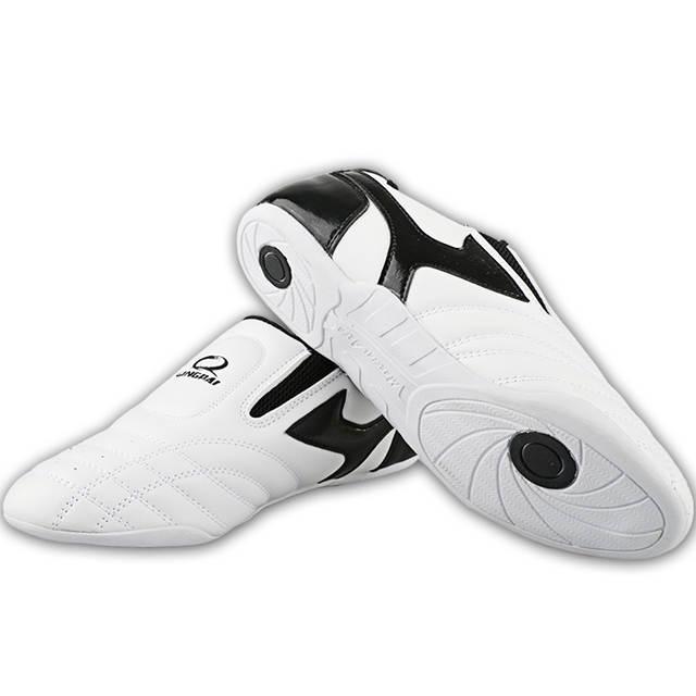 c0ec822d92c36e placeholder Korea Pinetree White Taekwondo Shoes Martial Arts TKD Sneaker  Adult kids PU Leather Tae Kwon Do