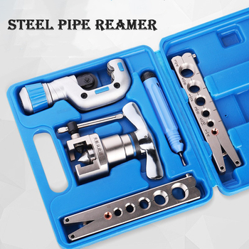 Expander copper tube flare kit eccentric flare device, air conditioner refrigerator repair pipe flare cutting tool фото