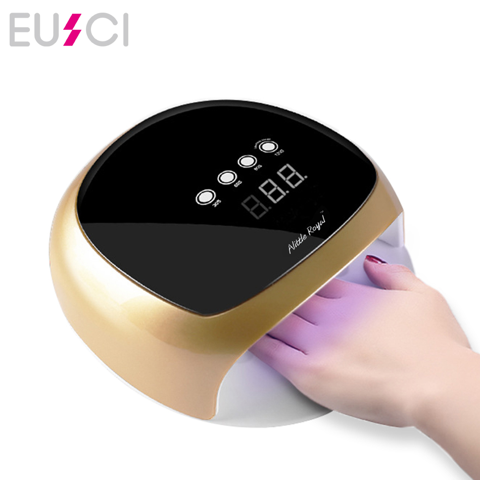 New Nail Dryer UV LED Nail Lamp for curing Nails Gel Polish Varnish Curing Light with Invisible Timer Lamp Automatic Sensor