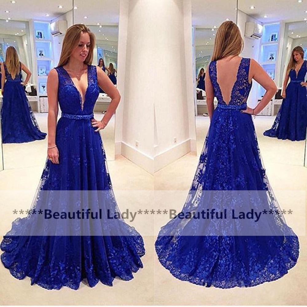 Hermosa Vestido De Cóctel Profundo Escote En V Ideas Ornamento ...