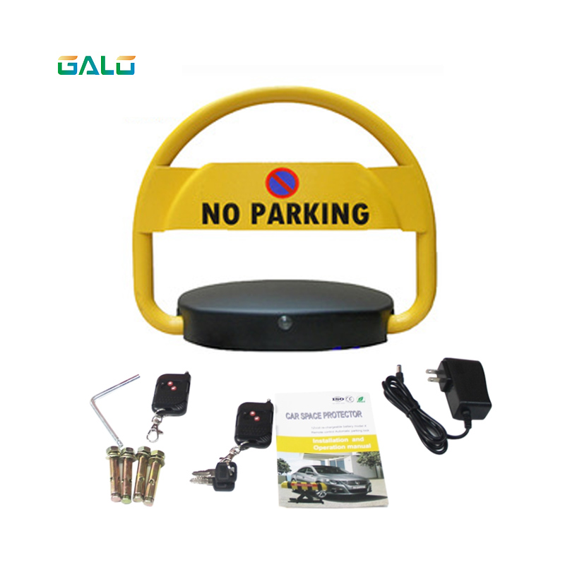 Waterproof Remote Control Lock Parking Barrier