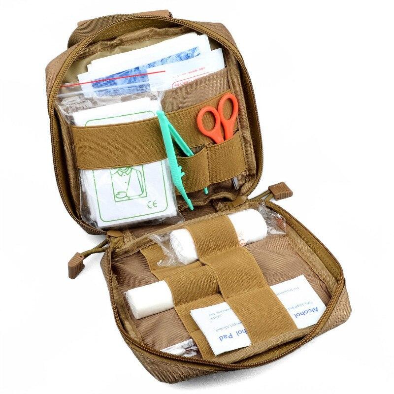 MOLLE EMT First Aid Kit Survival Bag Tactical Multi Medical Kit Utility Tool Belt Pouch tactical molle medical first aid kit pouch tool kit pouch emergency survival gear edc hunting utility belt bag