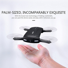 Airplane Original Jjrc H37 Elfie 4ch 6-axis Gyro Fpv Wifi Mini Rc Drone Quadcopter With Hd Foldable G-sensor Dron