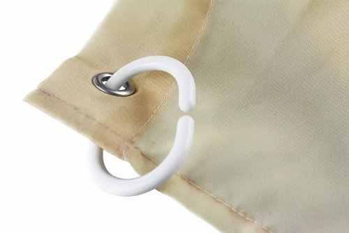 Домашние и семейные шторы для ванной из водонепроницаемой ткани занавеска с крючками ночной парусник на озере боковой дом принт дизайн 66x72