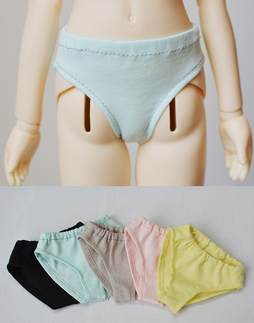 Simple Briefs Panties Multicolors For BJD 1/6 YOSD 1/4 MSD 1/3 DD SD16 SD17 Uncle Doll Clothes Accessories UW13 sweetie chocolate mousse european retro outfit dress suit for bjd doll 1 6 yosd doll clothes lf9