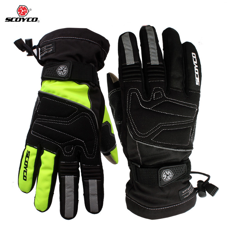 Motorcycle winter warm <font><b>gloves</b></font> Brand Scoyco MC30 moto touch screen <font><b>gloves</b></font> Waterproof windproof sports <font><b>gloves</b></font> Motocross Gear