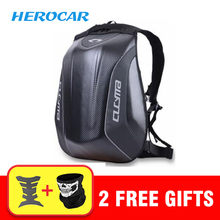 Cool Men's Motorcycle Bag Waterproof Motorcycle Backpack Touring Luggage Bag Motorbike Helmet Bags Moto Tank Bag Mochila Moto motorcycle helmet bag mochila moto backpack waterproof helmet bag carbon fiber motocross racing riding mochila motociclista